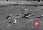 Image of Football game of Carnegie Mellon versus Pittsburgh Pittsburgh Pennsylvania USA, 1938, second 49 stock footage video 65675049467