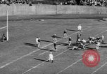 Image of Football game of Carnegie Mellon versus Pittsburgh Pittsburgh Pennsylvania USA, 1938, second 51 stock footage video 65675049467