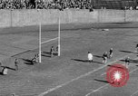 Image of Football game of Carnegie Mellon versus Pittsburgh Pittsburgh Pennsylvania USA, 1938, second 52 stock footage video 65675049467