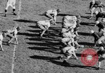 Image of Football game of Carnegie Mellon versus Pittsburgh Pittsburgh Pennsylvania USA, 1938, second 53 stock footage video 65675049467