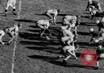 Image of Football game of Carnegie Mellon versus Pittsburgh Pittsburgh Pennsylvania USA, 1938, second 54 stock footage video 65675049467