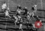 Image of Football game of Carnegie Mellon versus Pittsburgh Pittsburgh Pennsylvania USA, 1938, second 55 stock footage video 65675049467