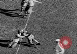 Image of Football game of Carnegie Mellon versus Pittsburgh Pittsburgh Pennsylvania USA, 1938, second 61 stock footage video 65675049467