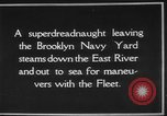 Image of USS Tennessee Brooklyn New York City USA, 1920, second 3 stock footage video 65675049928