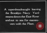 Image of USS Tennessee Brooklyn New York City USA, 1920, second 5 stock footage video 65675049928