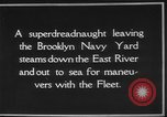 Image of USS Tennessee Brooklyn New York City USA, 1920, second 8 stock footage video 65675049928