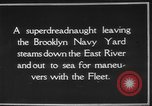 Image of USS Tennessee Brooklyn New York City USA, 1920, second 9 stock footage video 65675049928