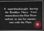 Image of USS Tennessee Brooklyn New York City USA, 1920, second 17 stock footage video 65675049928
