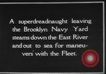 Image of USS Tennessee Brooklyn New York City USA, 1920, second 18 stock footage video 65675049928