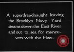 Image of USS Tennessee Brooklyn New York City USA, 1920, second 20 stock footage video 65675049928