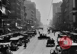Image of Busy city street with traffic circa 1925 United States USA, 1925, second 10 stock footage video 65675050488