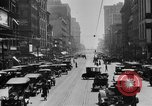 Image of Busy city street with traffic circa 1925 United States USA, 1925, second 11 stock footage video 65675050488