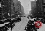 Image of Busy city street with traffic circa 1925 United States USA, 1925, second 12 stock footage video 65675050488