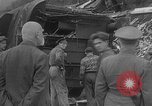 Image of train collision Austria, 1951, second 19 stock footage video 65675050620