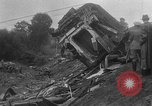 Image of train collision Austria, 1951, second 24 stock footage video 65675050620