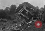Image of train collision Austria, 1951, second 25 stock footage video 65675050620