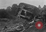 Image of train collision Austria, 1951, second 26 stock footage video 65675050620