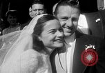 Image of Ralph Kiner and Nancy Chaffee Santa Barbara California USA, 1951, second 9 stock footage video 65675050621