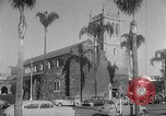 Image of Ralph Kiner and Nancy Chaffee Santa Barbara California USA, 1951, second 16 stock footage video 65675050621