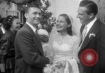 Image of Ralph Kiner and Nancy Chaffee Santa Barbara California USA, 1951, second 18 stock footage video 65675050621