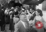 Image of Ralph Kiner and Nancy Chaffee Santa Barbara California USA, 1951, second 24 stock footage video 65675050621