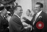Image of Ralph Kiner and Nancy Chaffee Santa Barbara California USA, 1951, second 26 stock footage video 65675050621