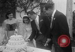 Image of Ralph Kiner and Nancy Chaffee Santa Barbara California USA, 1951, second 31 stock footage video 65675050621