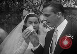 Image of Ralph Kiner and Nancy Chaffee Santa Barbara California USA, 1951, second 32 stock footage video 65675050621