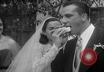 Image of Ralph Kiner and Nancy Chaffee Santa Barbara California USA, 1951, second 33 stock footage video 65675050621