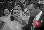 Image of Ralph Kiner and Nancy Chaffee Santa Barbara California USA, 1951, second 35 stock footage video 65675050621