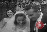 Image of Ralph Kiner and Nancy Chaffee Santa Barbara California USA, 1951, second 36 stock footage video 65675050621