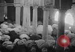 Image of Muslims performing namaz (Salat) Delhi India, 1936, second 40 stock footage video 65675050628