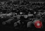 Image of Muslims performing namaz (Salat) Delhi India, 1936, second 45 stock footage video 65675050628