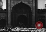 Image of Muslims performing namaz (Salat) Delhi India, 1936, second 53 stock footage video 65675050628