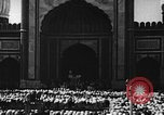 Image of Muslims performing namaz (Salat) Delhi India, 1936, second 54 stock footage video 65675050628