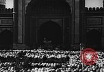 Image of Muslims performing namaz (Salat) Delhi India, 1936, second 55 stock footage video 65675050628