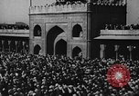 Image of Muslims performing namaz (Salat) Delhi India, 1936, second 57 stock footage video 65675050628