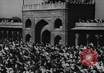 Image of Muslims performing namaz (Salat) Delhi India, 1936, second 58 stock footage video 65675050628