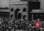 Image of Muslims performing namaz (Salat) Delhi India, 1936, second 59 stock footage video 65675050628
