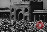 Image of Muslims performing namaz (Salat) Delhi India, 1936, second 60 stock footage video 65675050628
