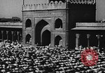 Image of Muslims performing namaz (Salat) Delhi India, 1936, second 62 stock footage video 65675050628
