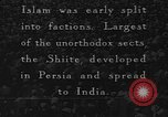 Image of Shia Muslims commemorate death of Ali, Mohammed's son-in-law India, 1936, second 1 stock footage video 65675050629