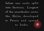 Image of Shia Muslims commemorate death of Ali, Mohammed's son-in-law India, 1936, second 7 stock footage video 65675050629