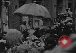 Image of Shia Muslims commemorate death of Ali, Mohammed's son-in-law India, 1936, second 13 stock footage video 65675050629