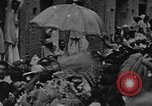 Image of Shia Muslims commemorate death of Ali, Mohammed's son-in-law India, 1936, second 16 stock footage video 65675050629