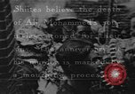 Image of Shia Muslims commemorate death of Ali, Mohammed's son-in-law India, 1936, second 40 stock footage video 65675050629