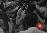 Image of Shia Muslims commemorate death of Ali, Mohammed's son-in-law India, 1936, second 56 stock footage video 65675050629