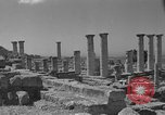 Image of ruins Libya, 1950, second 11 stock footage video 65675050653