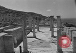 Image of ruins Libya, 1950, second 13 stock footage video 65675050653