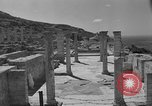 Image of ruins Libya, 1950, second 15 stock footage video 65675050653
